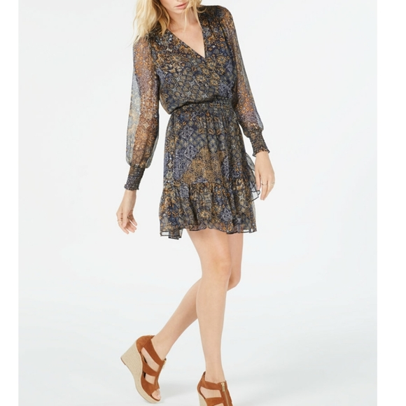 MICHAEL Michael Kors Dresses & Skirts - MICHAEL KORS Petite Ruffled Dress